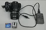 Дзеркальна камера фотоапарат Canon EOS 400D і об'єктив Canon EFS 18-55 mm, фото 2