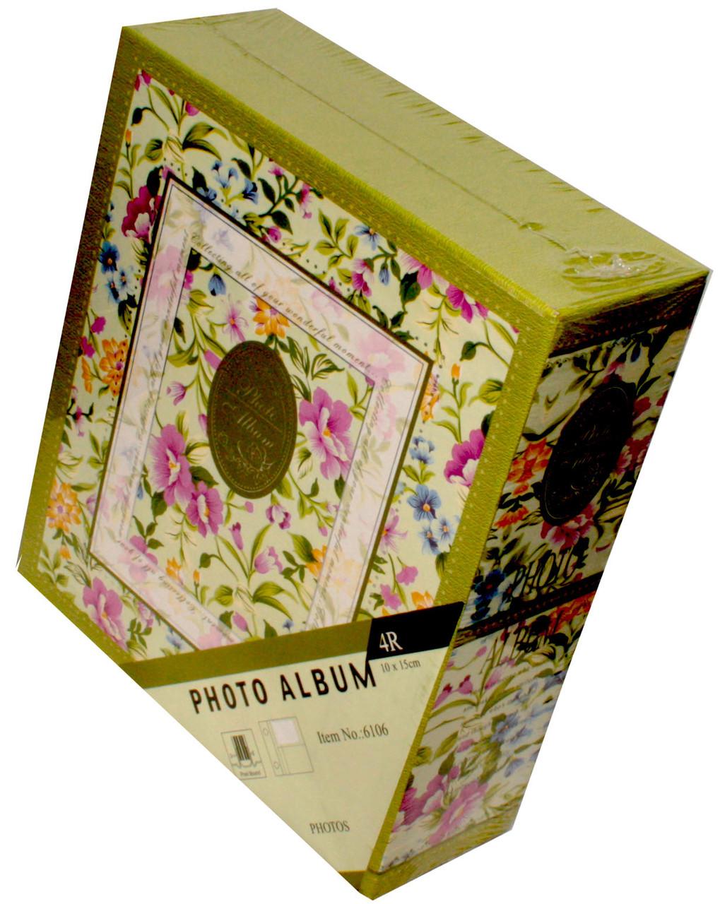 Фотоальбомы BSA в коробке Цветочный узор (40 фото 10Х15)