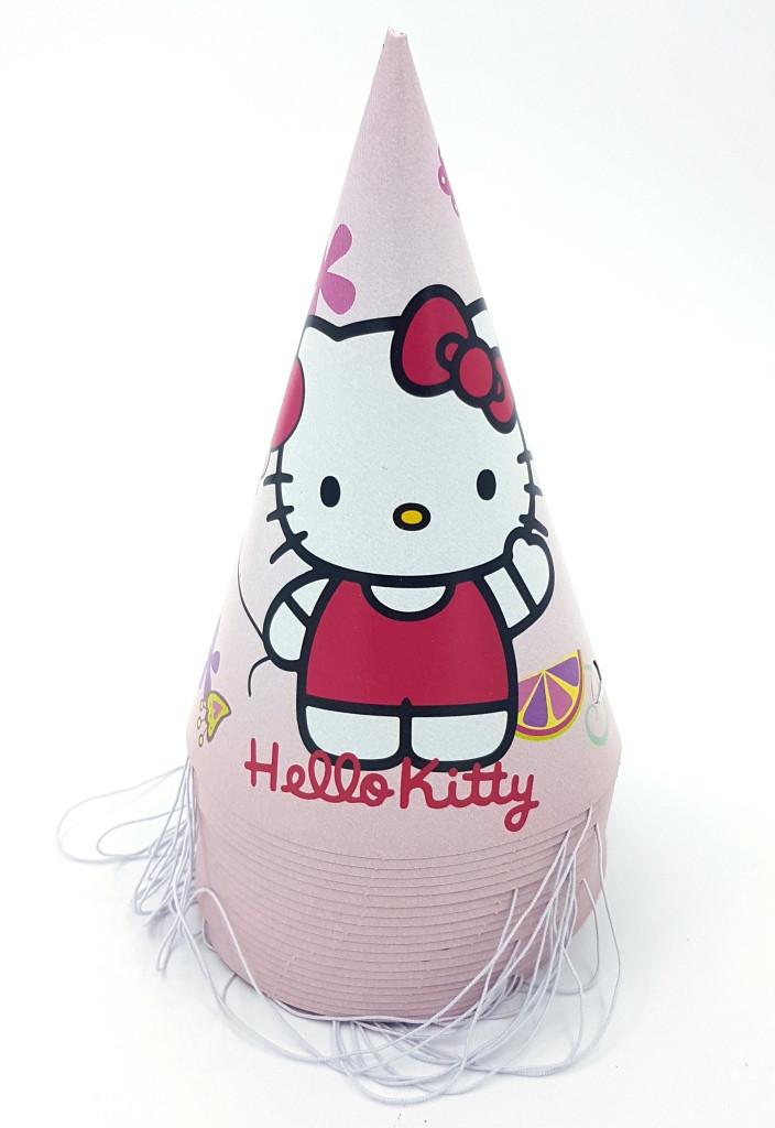 """Ковпачок дитячий """"Hello Kitty"""" 16см. (10шт.)"""