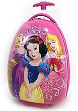 Детский чемодан дорожный на колесах Белоснежка и Принцессы, 520444