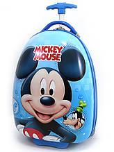 """Детский чемодан дорожный на колесах """"Микки Маус  - 6"""", 520447"""