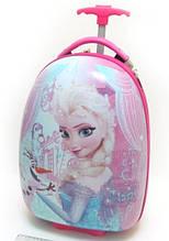 Детский чемодан дорожный Холодное Сердце, Frozen, Анна и Эльза на колесах 520322