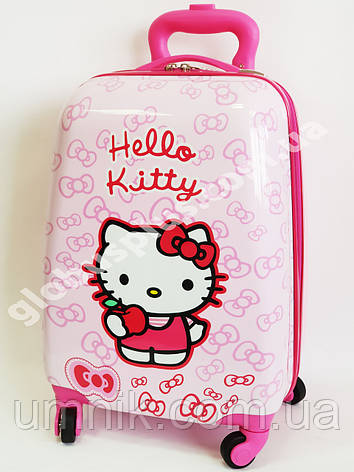 Детский чемодан дорожный Hello Kitty-3 на четырех колесах 520347, фото 2