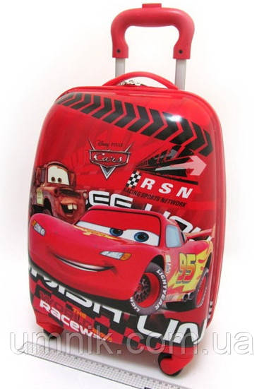 "Детский чемодан на колесах ""Тачки"" Cars-8, 520362"