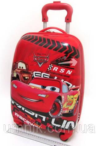"Детский чемодан на колесах ""Тачки"" Cars-8, 520362, фото 2"