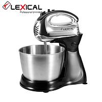 Миксер LEXICAL LMB-1801 с металлической чашей 3,5 л 250W, 5 скоростей
