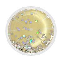 Тримач для телефону круглий (liquid shine) Коло / Жовтий