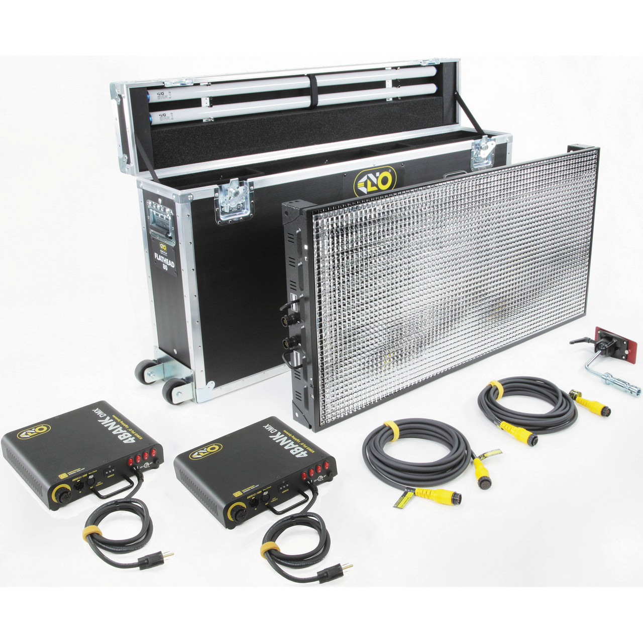 Kino Flo Flathead 80 DMX System Kit (North American Plug) (KIT-F80-X120U)