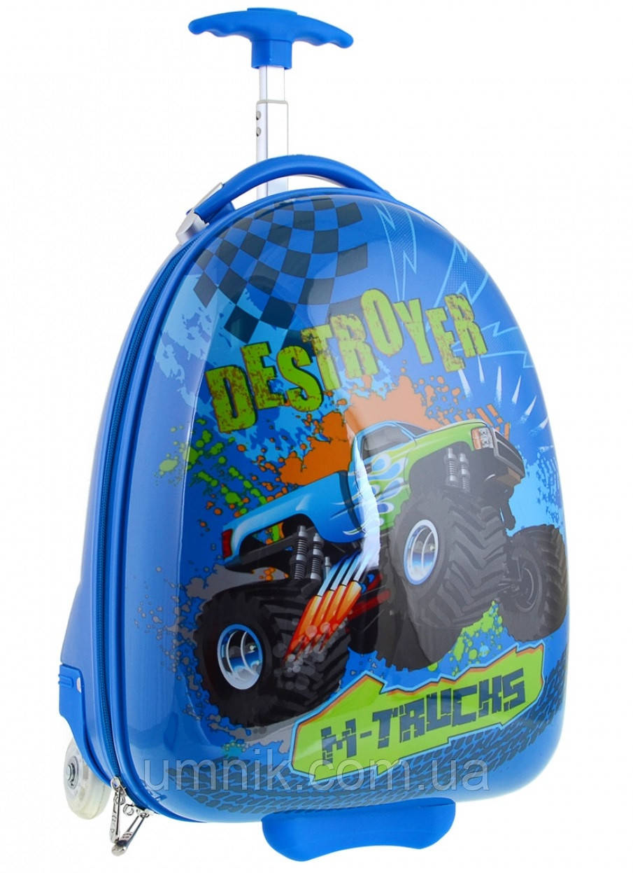 Детский чемодан дорожный на колесах «YES» M-Trucks 520462