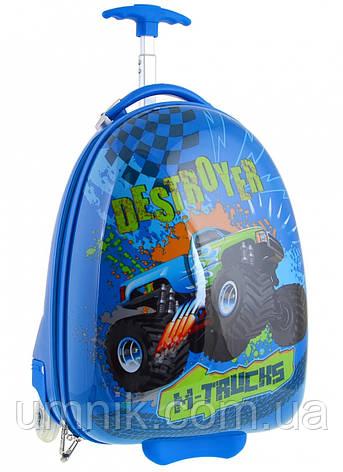 Детский чемодан дорожный на колесах «YES» M-Trucks 520462, фото 2