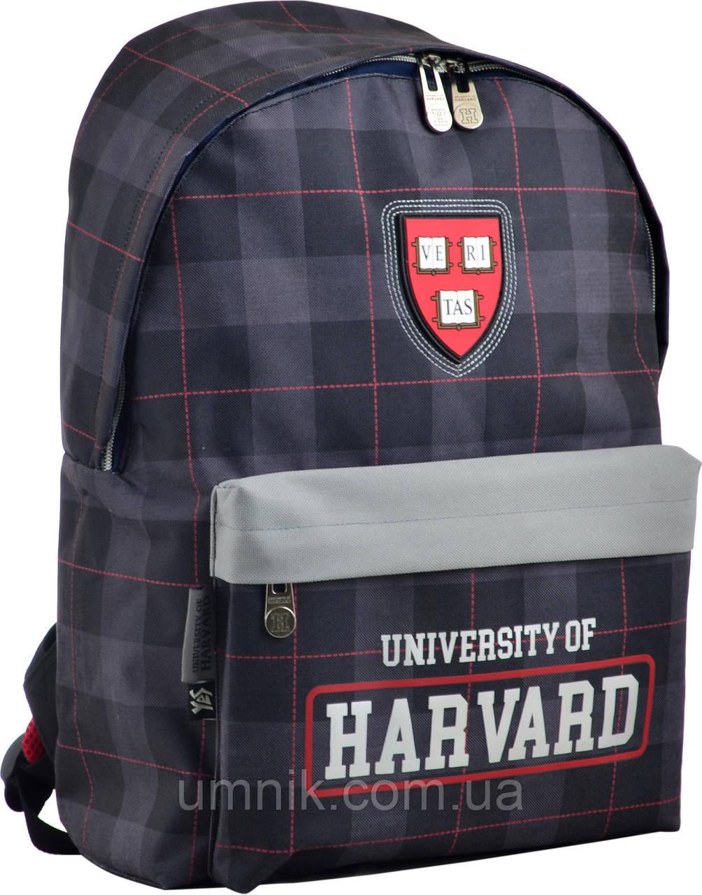 """Рюкзак подростковый """"Harvard black"""" SP-15, 555038"""