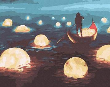 Картины по номерам 40х50 см Brushme Лунная прогулка (GX 34643)