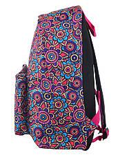 """Підлітковий Рюкзак ST-17 Crazy Floral, """"YES"""", 554988, фото 3"""
