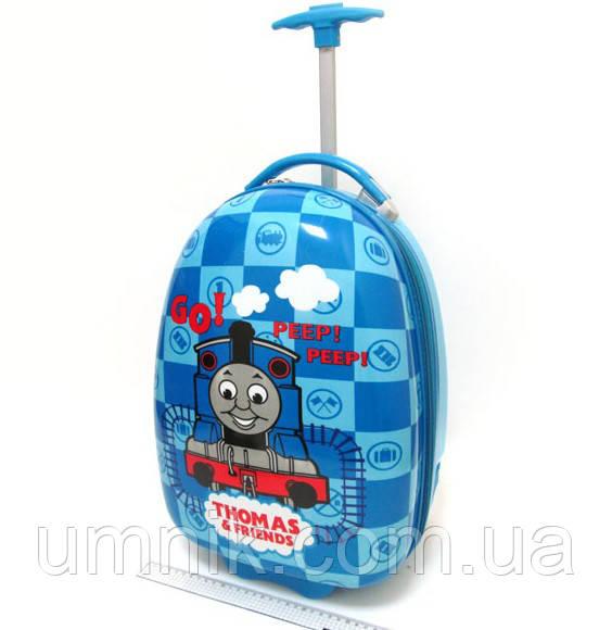 Дитяча валіза дорожній на колесах «Паровозик Томас», 520371