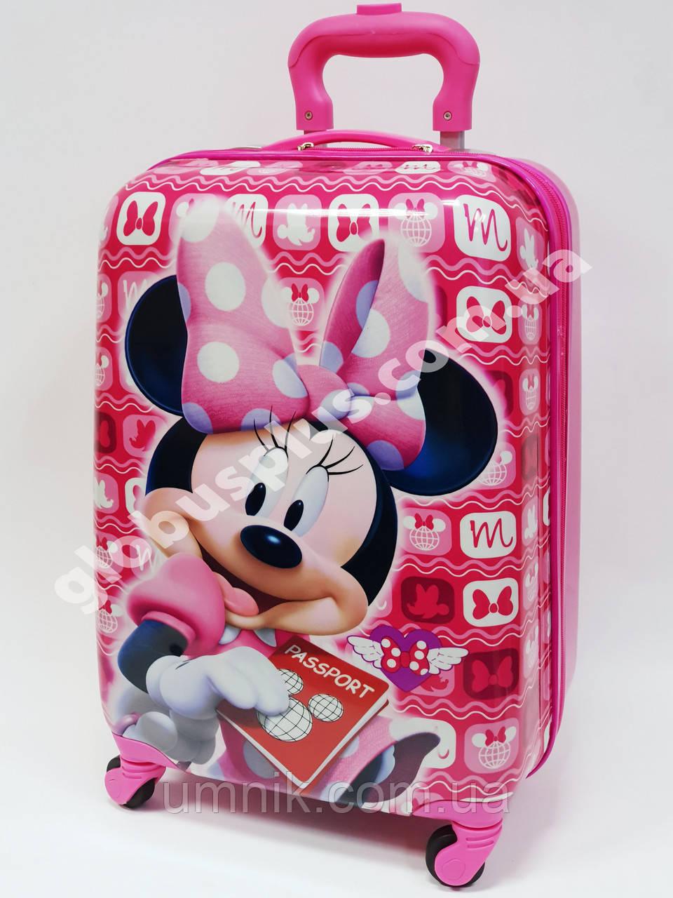 """Дитяча валіза дорожній на колесах 18"""" «Minnie Mouse» Мінні Маус -2, 520373"""