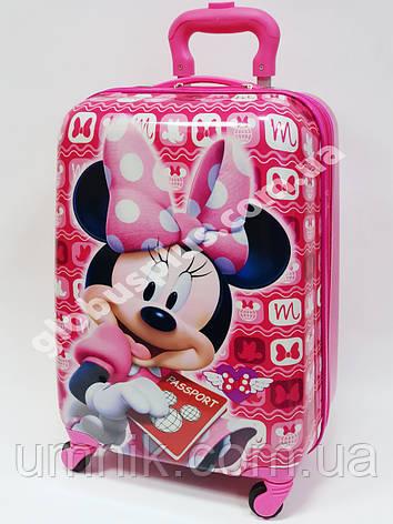 """Дитяча валіза дорожній на колесах 18"""" «Minnie Mouse» Мінні Маус -2, 520373, фото 2"""