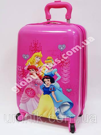 """Детский чемодан дорожный на колесах 18"""" «Принцессы» Princess-6, 520375, фото 2"""