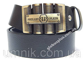 Ремень мужской кожаный Philipp Plein 40 мм., 930892
