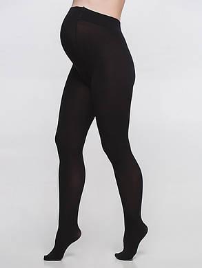 Колготы для беременных черные 100 Ден, размер 2-5, фото 2