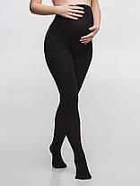 Колготы для беременных черные 100 Ден, размер 2-5, фото 3