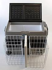 Компресорний автохолодильник, автоморозильник Altair Т60 (60 літрів). До -20 °С. 12/24/220V, фото 3