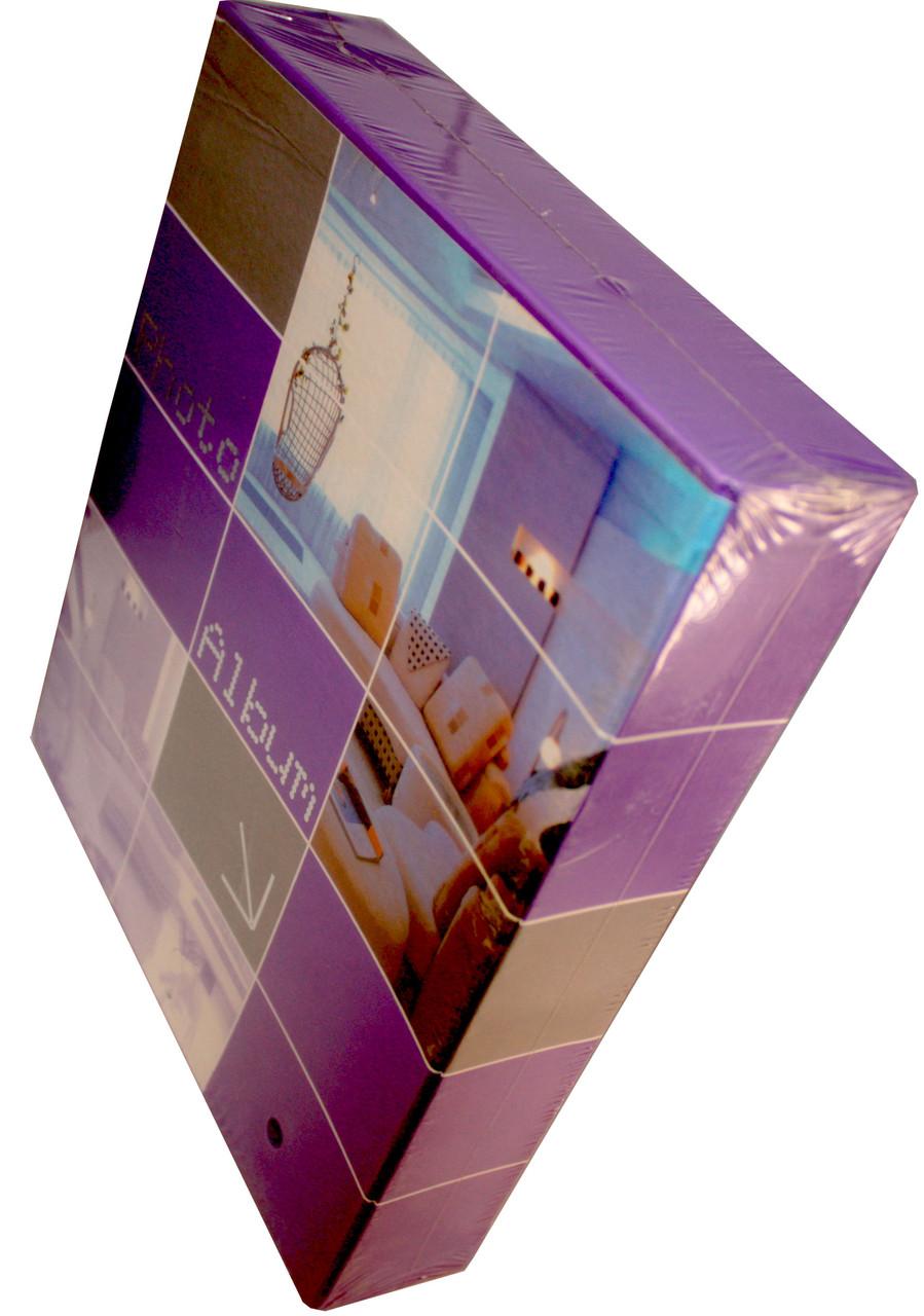 Фотоальбомы в коробке Интерьер (100фото 10Х15) 35мк