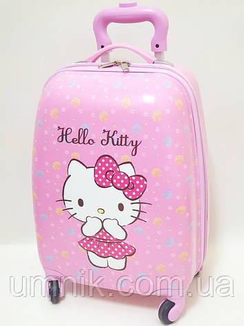 "Детский чемодан дорожный на колесах 16"" «Хелло Китти» Hello Kitty-7, 520413, фото 2"
