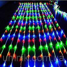 Гирлянда светодиодная водопад 480 LED, цветной 3,0×3,0 м