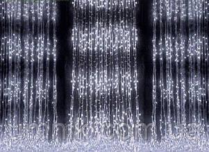 """Гирлянда светодиодная """"Водопад"""" 320 LED, холодный белый 2,0×2,0 м"""