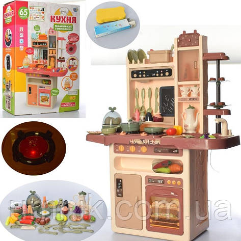 Дитяча ігрова кухня, вода, світло, звук, 65 предметів, 889-212, фото 2