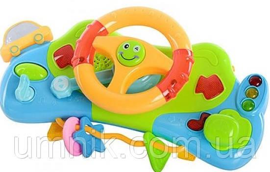 Развивающая музыкальная игрушка автотренажер, Play Smart, 7324