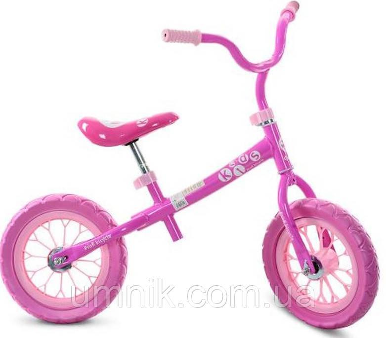 Беговел детский Profi Kids, 12 дюймов, M3255-1, розовый