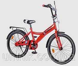 Велосипед детский двухколесный EXPLORER T-220114-RED, 20 дюймов, красный
