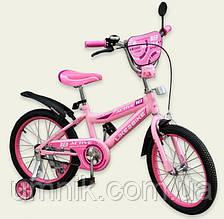Велосипед детский двухколесный Like2bike Active,16 дюймов, 191628, розовый