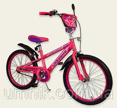 Велосипед детский двухколесный Like2bike Sprinte, 20 дюймов, 192032,розовый