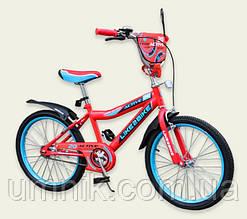 Велосипед детский двухколесный Like2bike Active, 20 дюймов, 192026, красный