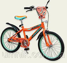 Велосипед детский двухколесный Like2bike Active, 20 дюймов, 192030, оранжевый