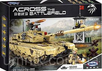 """Конструктор XINGBAO Military """"Військовий танк"""", 1340 дет., XB-06021, фото 2"""