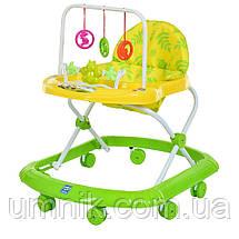 Детская каталка-ходунки, интерактивные, музыкальные, с игровой панелью, Bambi, M 0591A, фото 3
