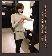 Стильная маленькая женская сумка-мессенжер. Модель 469, фото 3