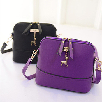 Стильная маленькая женская сумка-мессенжер. Модель 05275