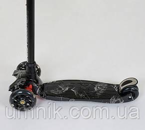 Самокат 3-колёсный Best Scooter, А25463/779-1318 MAXI, светящиеся колёса, фото 2