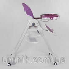 Стільчик для годування Toti, ремені безпеки, W-62005, фото 3