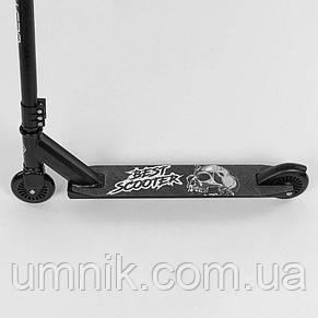 Самокат трюковый Best Scooter 73908, черный., фото 3