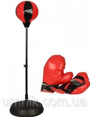 Дитячий боксерський набір Profi Boxing, металева стійка, MS0333, фото 2