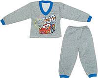 Пижама Тачки с начесом 26-34