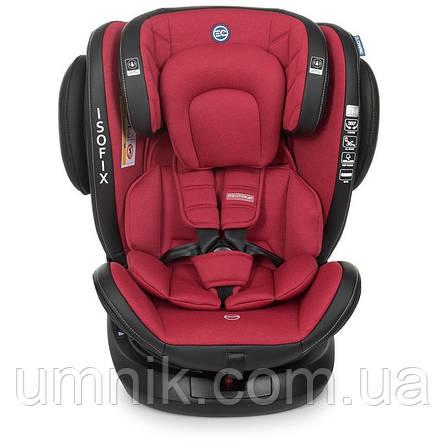 Автокресло детское EL CAMINO, Evolution 360, 0-36 кг, красное, ME 1045 Royal Red, фото 2