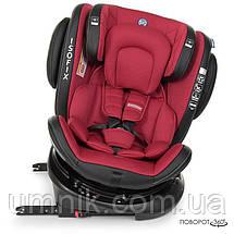 Автокресло детское EL CAMINO, Evolution 360, 0-36 кг, красное, ME 1045 Royal Red, фото 3