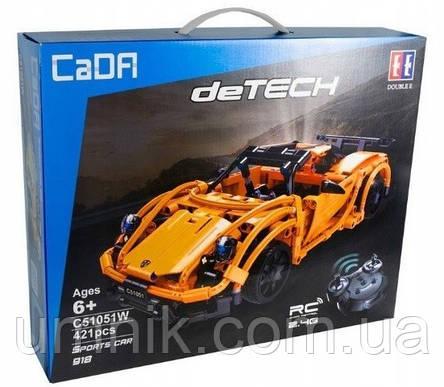"""Конструктор CaDa Technic """"Porsche 918"""", 421 дет., C51051W, фото 2"""