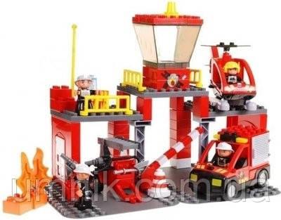 """Конструктор Jixin, """"Пожарная служба"""", 63 дет., 9188A"""